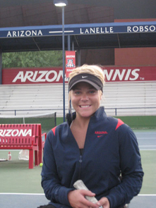 Psychology major Kaitlyn Verfuerth, a veteran of the Paraylmpic games, is one of four women selected to compete for the U.S. team in the World Team Cup tennis competition in South Africa.