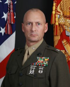 Marine Corps Colonel Michael Kuhn