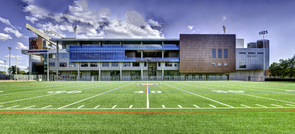The Lowell-Stevens Football Facility is one of the many projects undertaken by the UA that emphasizes sustainability through incorporation of initiatives such as recycling programs and green design and construction. (Image courtesy of Luke Adams)