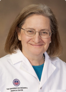 Through her studies, Dr. Naomi Rance has worked out the neuroanatomy of KNDy neurons and discovered how they participate in important life functions such as reproduction and body temperature regulation. (Photo: UA Biomedical Communications)