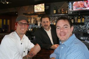 Travis Peters, Steve Dunn and Bryce Zeagler are the new owners of The Parish. Zeagler, an Eller alumnus, previously owned The French Quarter restaurant in Tucson for seven years. (Photo credit: Cullen Creative)