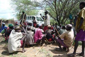 Pokot tribesmen in Kenya