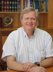 UA alumnus Brian Schmidt is a Distinguished Professor and Laureate Fellow at the Australian National University. He was awarded the 2011 Nobel Prize in Physics for his work measuring the change in the rate of expansion of the universe.
