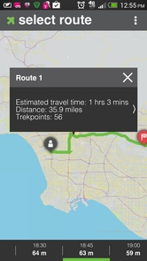 The app uses advanced traffic prediction and vehicle routing technology, combined with user rewards, to give drivers the best suggestions for avoiding traffic while helping reduce traffic congestion.