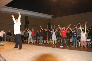 The institute's tai chi classes will be taught by tai chi master and martial arts champion Junming Zhao.