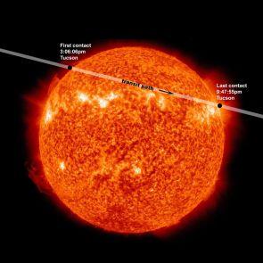 (Click image to enlarge) The Transit of Venus. (Photo credit: NASA)