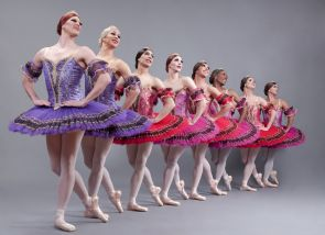 "Les Ballets Trockadero De Monte Carlo will perform April 20, 2013 UA Centennial Hall. The critically acclaimed and award-winning 'Trocks' perform parodies of classical works, including ""Swan Lake"" and ""Giselle."" (Photo courtesy of UApresents)"