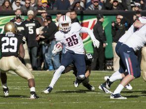 Ka'Deem Carey, freshman running back. (Photo courtesy of Arizona Athletics)