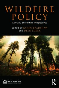 Among the chosen contributors, their collective knowledge represents areas of environmental and wildfire policy, fire liability and environmental law, the political economy of natural resource management, forest management, property law and tort law.