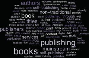 The emergent self-publishing model poses itself as a hybrid in the world of publishing. And, in effect, self-publishing is disrupting the traditional industry while also creating shifts in how readers connect with books.