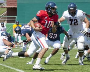 UA quarterback Matt Scott excelled during the Spring Game, held over the weekend. (Photo by J&L Photo and courtesy of Arizona Athletics)