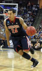 Brendon Lavender is one of five Wildcat seniors returning for the 2011-12 season.