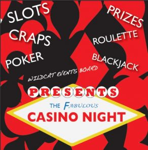 Casino Night is open to employees and students alike.