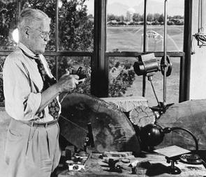 A.E. Douglass, founder of the University of Arizona Laboratory of Tree-Ring Research