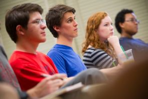 The UA has several programs to increase freshman retention and success. (Photo by FJ Gaylor Photography)
