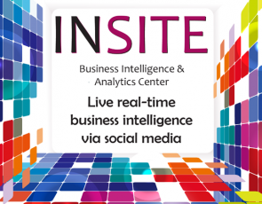 INSITE is a new business intelligence and analytics center seeking businesses to become members to help them understand, harness and analyze datasets from social media sites.