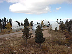 Steward Observatory seeks to make the Mount Lemmon summit a financially self-sustaining, world-class site for public science education. (Photo: Lori Stiles)