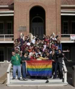 The UA Office of LGBTQ Affairs was first created in 2007. Since then, the office has helped to rapidly increase the level of awareness and support of LGBTQ-related issues.