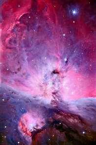 Astrophotographer Adam Block at UA's Mount Lemmon SkyCenter who was not involved in the research reported here took this wide-field view image of the Orion nebula's central region using the Schulman Telescope atop Mt Lemmon just north of Tucson, Ariz. (Photo: Adam Block/UA SkyCenter)
