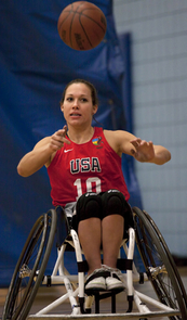 Jennifer Poist, a second-year doctor of pharmacy student and the sole lady Wildcat in the Paralympics, will compete with 11 other teammates who made the cut for the USA women's wheelchair basketball team.