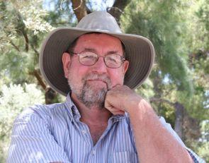 Jeff Harrison (Photo by Kate Harrison, UA School of Journalism)