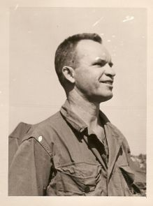 Root as an Army sergeant during WWII.