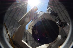 The 32-inch Schulman Telescope at the UA SkyCenter is the largest telescope dedicated exclusively to public viewing. (Photo: Patrick McArdle/UANews)