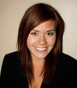 Freeman award winner Megan Shekleton.