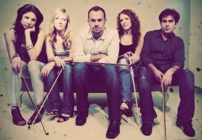 Sybarite5, an up and coming string quintet, will perform at Crowder Hall Nov. 29 as part of the UApresents season. (Photo courtesy of UApresents)
