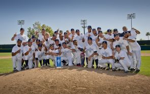 Arizona won a share of the Pac-12 Championship over the weekend by winning the series against ASU. The team will play in the Regionals this weekend in Tucson. (Photo courtesy of Arizona Athletics)