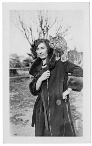 """""""Rufus Arizona,"""" the UA's first mascot, was named after then-UA President Rufus Bernard von KleinSmid, who served from 1914 to 1921. (Photo courtesy of the UA Special Collections)"""