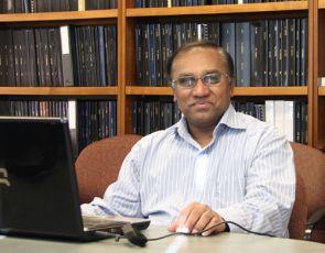 Pinnaduwa H. S. W. Kulatilake, professor of geological engineering in the UA College of Engineering.