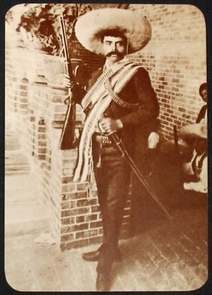Emiliano Zapata-Mexican revolutionary. Photograph, date unknown. Fred Rochlin Papers, 1694-2002 (bulk 1880-1930).