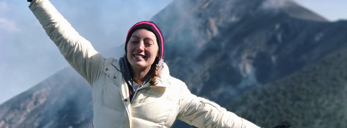 """""""I have always known that I wanted to pursue an international career in grassroots service, community development and peace building,"""" said Ruth Byrnes, who will serve as a Peace Corps Volunteer following her graduation from the UA in May."""