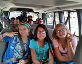 UA Fusion camp members prepare for a trip to Mount Lemmon for the Skin of the Planet camp. (Photo courtesy of Flandrau Science Center and Planetarium)