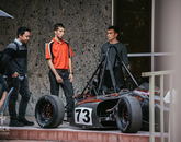 Wildcat Formula Racing was represented during Hack Arizona. (Photo courtesy of Hack Arizona)