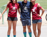 BlastOff! counselors Melissa Harnois, Khoi Nguyen and Anh Hua.
