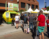 Food vendors are another draw for the festival.