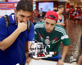 All of the students are industrial engineering and mechatronics undergraduates from Tecnológico de Monterrey, or ITESM.