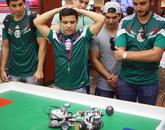 Team Huevos Rancheros looks on as the battle heats up.