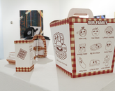 """Stobburger Packaging"" by Yuen Ping Sze, a studio art graduate."