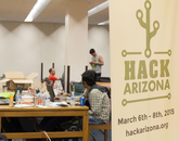 More than 400 participated in Hack Arizona, which was organized by UA students.