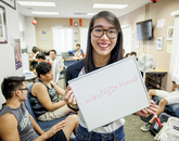 """""""I've never been outside the country before, me studying abroad is a big life experience for me,"""" said junior Kaylee Wong, a global studies and communication major from Tempe, Ariz. """"I'm going to a region I want to go work for in the future, so this is both personally and professionally a big step forward."""""""