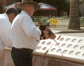 About $175,000 in private donations were raised to fund the memorial project.