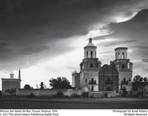 "Adams took ""Mission San Xavier del Bac, Tucson, Arizona"" in 1950."
