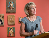 UA Senior Vice President Kimberly Andrews Espy said the thieves stole a signature painting as well as 30-plus years of access to the piece by the public and scholars. (Photo: John de Dios/UANews)