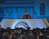 President Ann Weaver Hart addresses the graduates. Photo by Robert Walker Photography