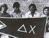 Delta Chi members sponsored the Homecoming brunch during the 1975-76 academic year and also held an annual Western-themed party and a spring formal.