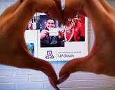 """""""Student Services at UA South is where it all begins!"""" – Elsie Estrada, senior office specialist, UA South"""