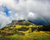 """Gabrielle Martin, a senior studying political science and Spanish, earned the category prize for Landscape and Nature for """"Over the Rainbow,"""" taken in Chile during the Arizona in Vina del Mar program."""